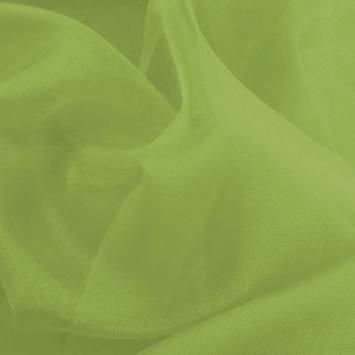 Organza vert anis