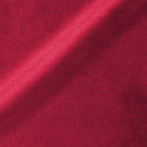 Velours teflon uni framboise 450 gr