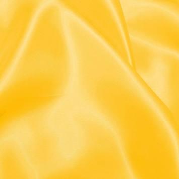 Satin uni jaune
