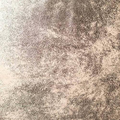 Simili cuir effet vieilli brillant écru