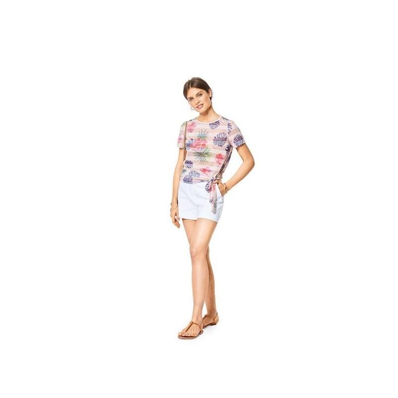 Patron Burda 6427 : T-shirt Taille 34-44